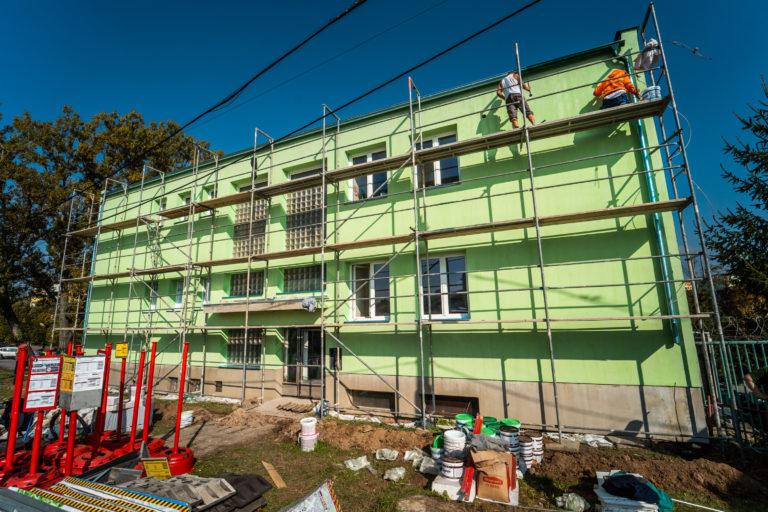 Lešení Smolka - bytový dům