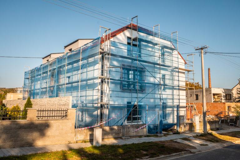 Lešení Smolka - dům